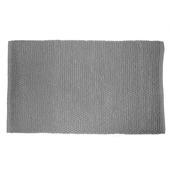 Le Noir & Blanc Chenille badmat grijs 60 x 90 cm