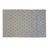 Le Noir & Blanc Trellis badmat grijs 60 x 90 cm