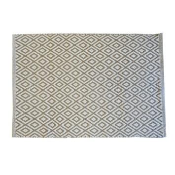 Le Noir & Blanc Trellis badmat paloma 60 x 90 cm