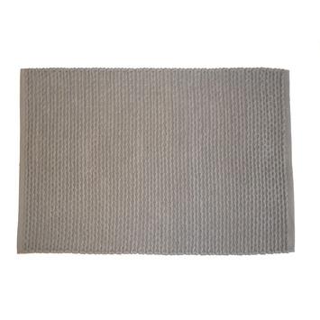 Le Noir & Blanc Braid badmat paloma 60 x 90 cm