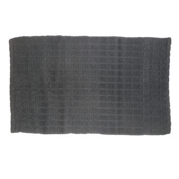 KARWEI Grid badmat donkergrijs 50 x 80 cm