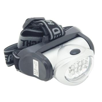Profile LED hoofdlamp / zaklamp metallic