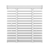 KARWEI horizontale aluminium jaloezie 50 mm mat wit (957) 180 x 180 cm