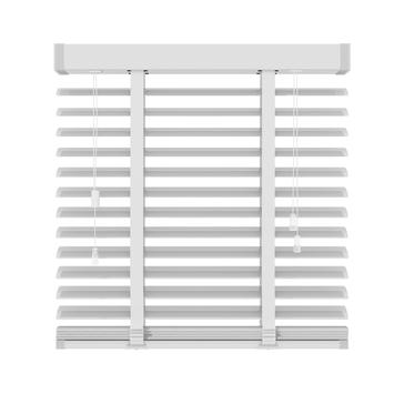 KARWEI horizontale aluminium jaloezie 50 mm mat wit (957) 200 x 180 cm