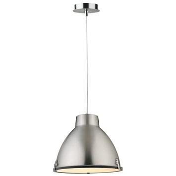 KARWEI Hanglamp Factory mat aluminium