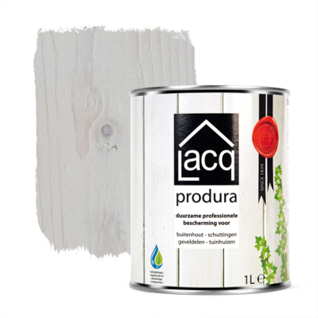 Lacq Produra buitenbeits transparant white mat 1 liter