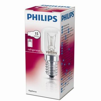Philips koelkastlamp helder E14 15W
