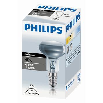 Philips reflectorlamp e14 r50 40w kopen speciale lampen for Lampen philips