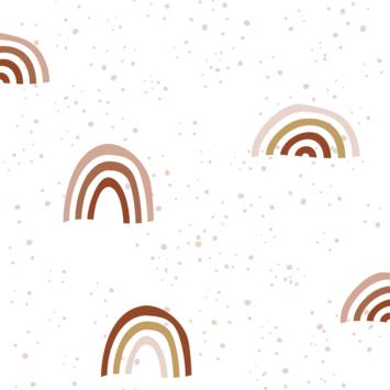 Vliesbehang bodil wit (dessin 113300)