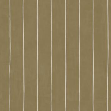 Vliesbehang streep oker (dessin 113314)
