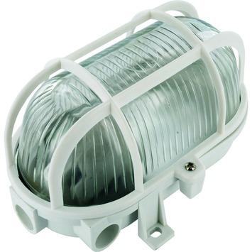 Elro wandlamp voor buiten ovaal wit