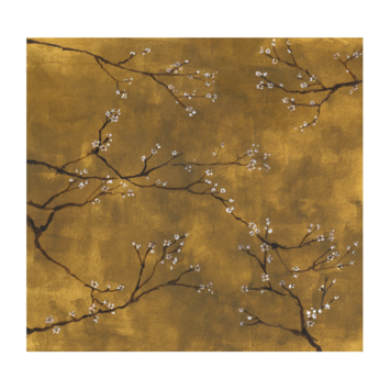 Fotobehang Chinese bloesem (dessin 105415)