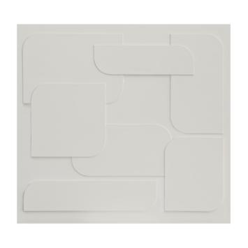vtwonen fotobehang soft 3D light grey (dessin 111335)
