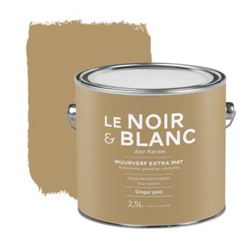 Le Noir & Blanc muurverf extra mat ginger gold 2,5 liter