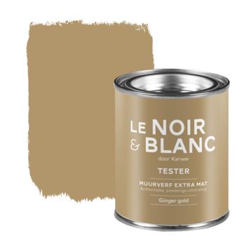 Le Noir & Blanc muurverf tester extra mat ginger gold 100 ml