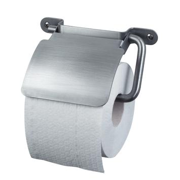 Haceka IXI toiletrolhouder met klep rvs