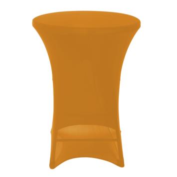 Statafel hoes 110cm oranje