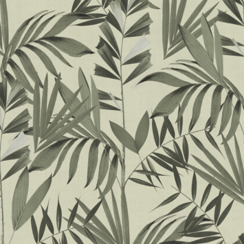 Vliesbehang japan groen (dessin 113312)