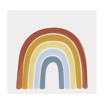 Fotobehang Little Dutch Rainbow Pure&Nature (dessin 8604)