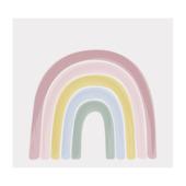 Fotobehang Little Dutch Rainbow Pink (dessin 8605)