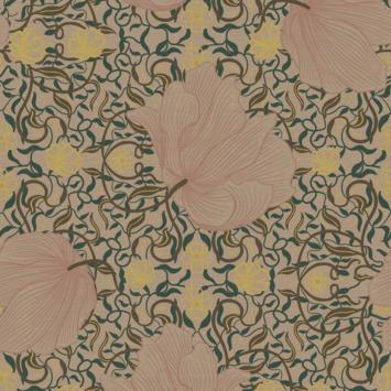 Vliesbehang vayen roze (dessin 113295)