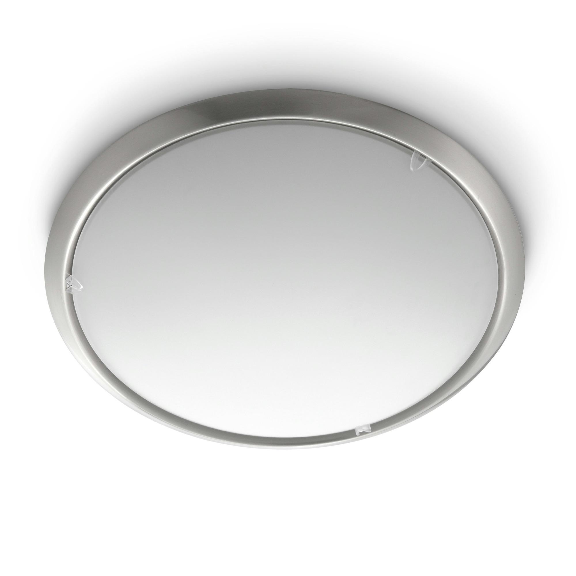 Philips myliving circle plafondlamp 230 v 2 x 75 w e27 grijs