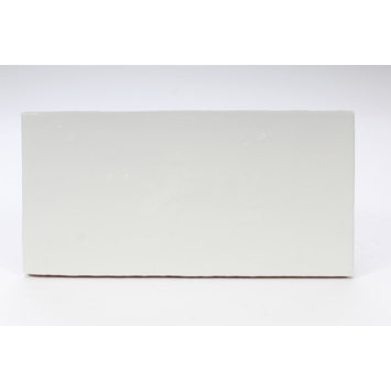 Wandtegel Tiber glanzend wit 15x30 cm 1m²