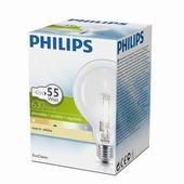 Philips EcoClassic halogeenlamp globe helder E27 42W