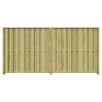 Schutting startpakket Tuinscherm Royal ca. 3,8 meter lang