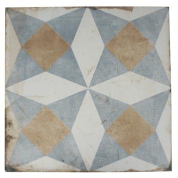 Vloertegel/wandtegel Lublin Medina 20x20 cm 0,52m²