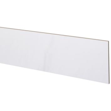 CanDo Traprenovatie Stootbord wit marmer 20x130 cm - 3 Stuks
