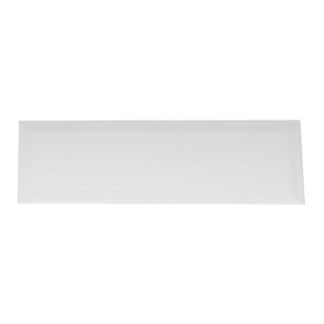 Wandtegel Metro wit 10x30 cm 0,9m²