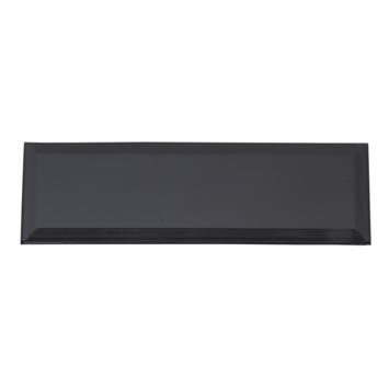 Wandtegel Metro zwart 10x30 cm 0,9m²