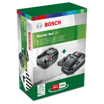Bosch 6,0Ah accu en lader startset 18V