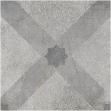 Vloertegel/wandtegel Dust Rombo décor 20x20 cm 1,36m²