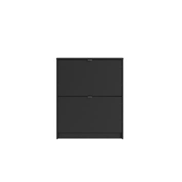 Schoenenkast Rik zwart