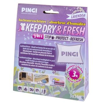 Pingi Keep dry & fresh luchtontvochtiger met geur gme-100 150 g