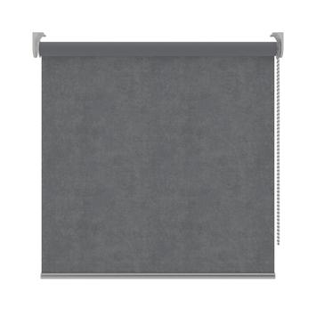 Rolgordijn Velvet verduisterend grijs (5869) 120x190 cm (bxh)