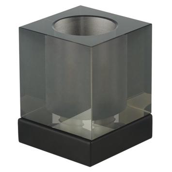 KARWEI tafellamp Silvijn rookglas