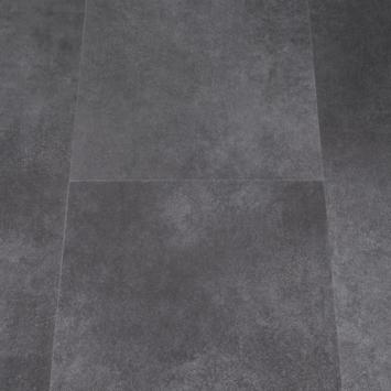 Karwei PVC click vloer Primera Allora donkergrijs 2,23 m2