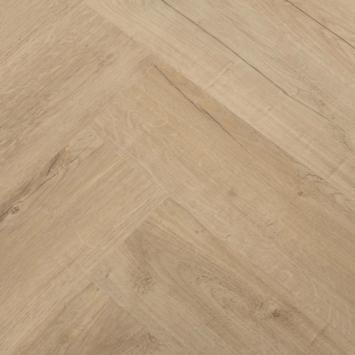 Karwei Click PVC Primera Naturel eiken visgraat 1,80 m2