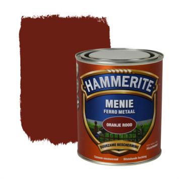 Hammerite menie voor ijzer en hout oranjerood 750 ml