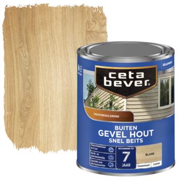 Cetabever snel beits gevel & kozijn transparant blank zijdemat 750 ml