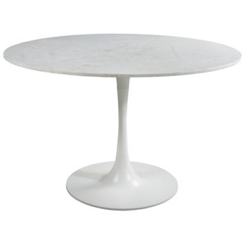 Eettafel Dene marmer wit