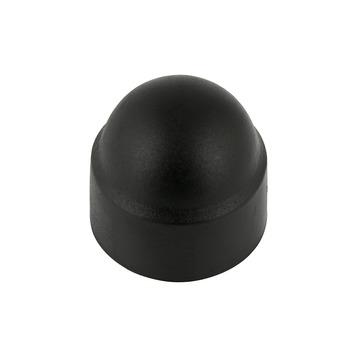 KARWEI afdekkapje zwart 7 mm  (10 stuks)