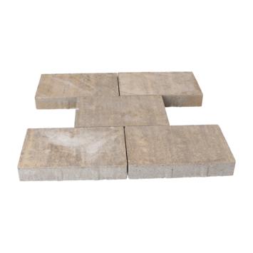 Terrastegel Beton Broadway Bruin/Oker 30x20 cm - Per Tegel / 0,06 m2