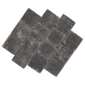 Trommelsteen Beton Antraciet 14x14x7 cm - 45 Stuks / 0,88 m2