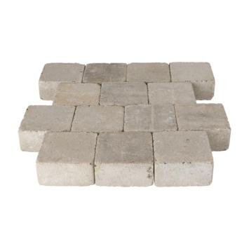 Trommelsteen Beton Grijs 14x14x7 cm - 45 Stuks / 0,88 m2