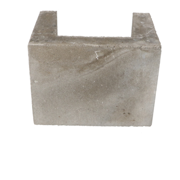 U-element beton grijs 30x40x30 cm