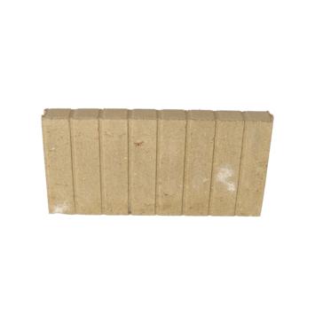 Palissade Beton Geel 50x25x6 cm - 24 Stuks